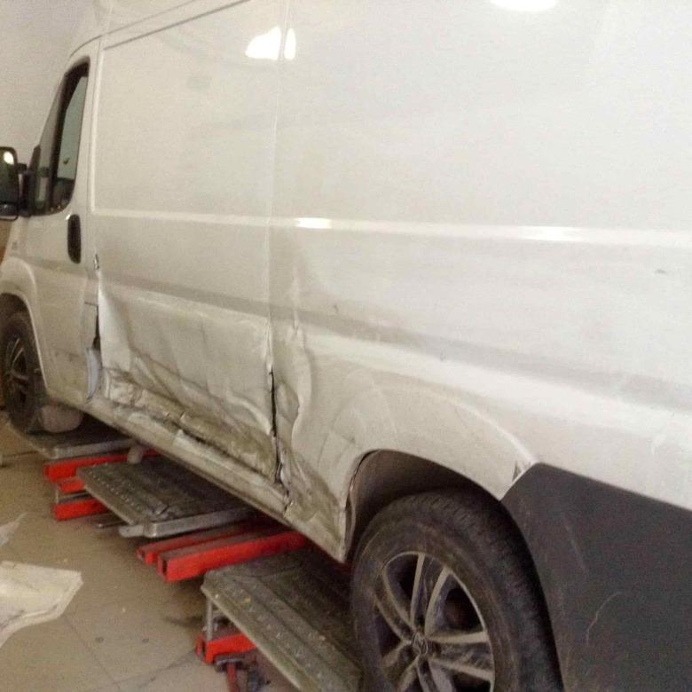 Fiat Ducato фото до ремонта