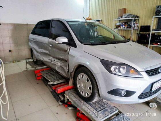 Ford Focus кузовной ремонт