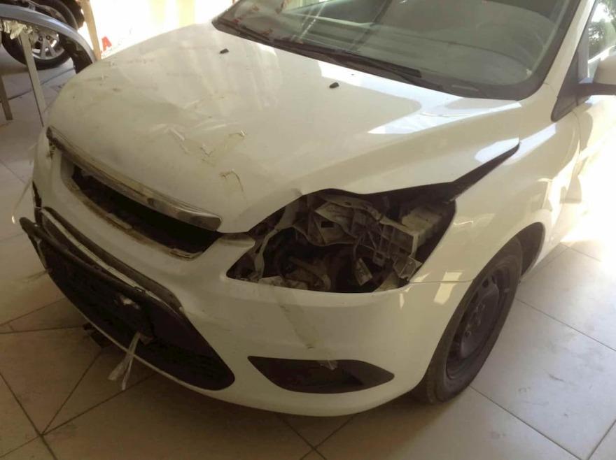 Ford Focus фото после восстановления капота