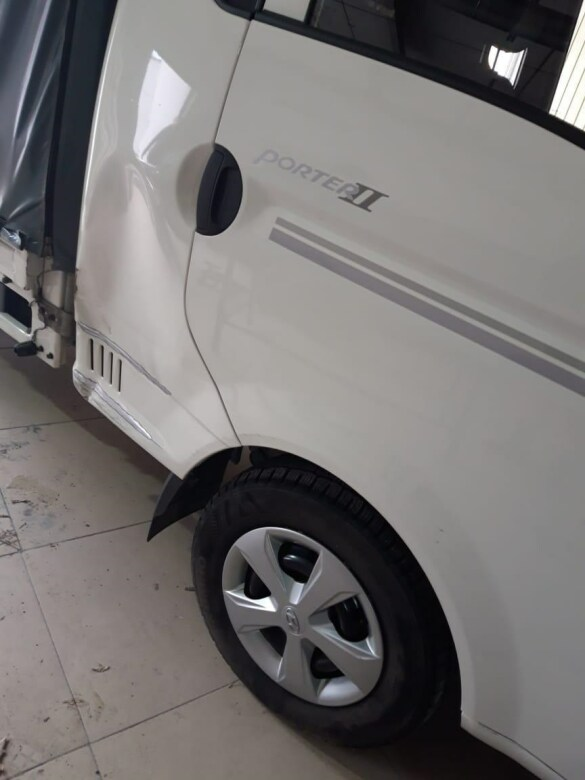 Hyundai Porter фото до ремонта