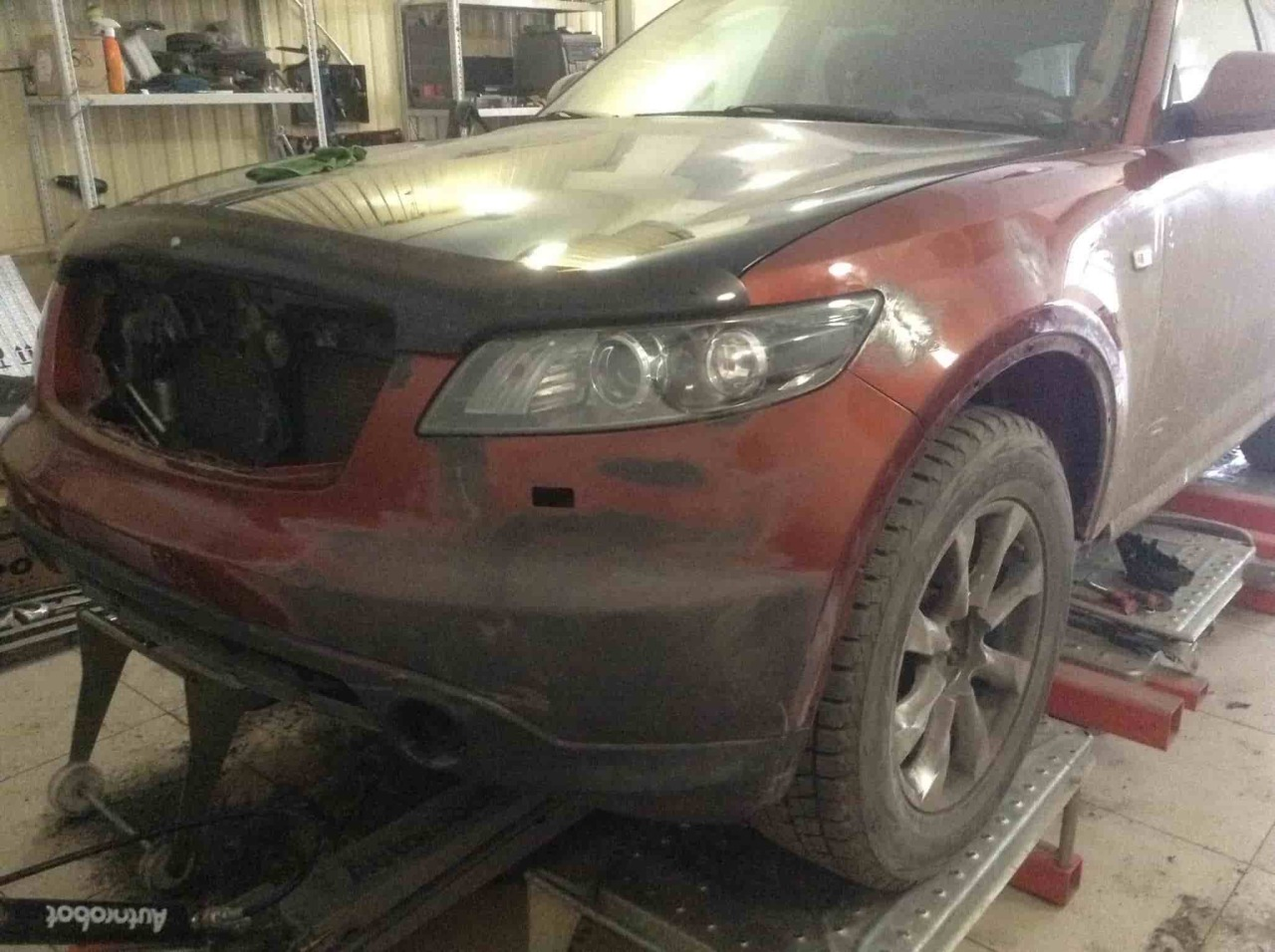 Фото авто до ремонта кузова