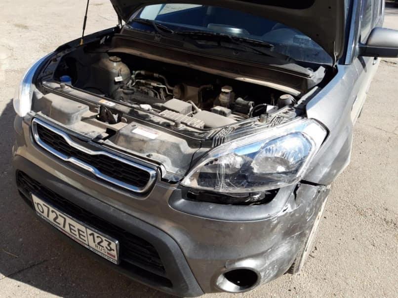 Kia Soul фото до ремонта