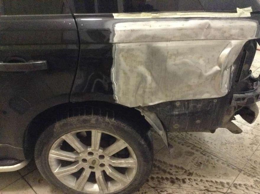 Land Rover фото до ремонта