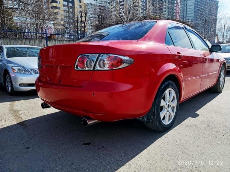 Mazda 6 фото результат ремонта в автосервисе