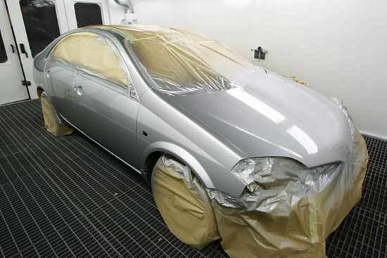 фото подбор краски и покраска машины