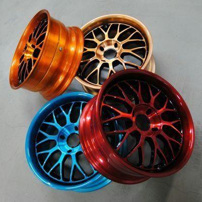 Фото окрашенных автомобильных дисков