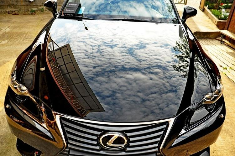 Фото результата полировка кузова авто в Краснодаре