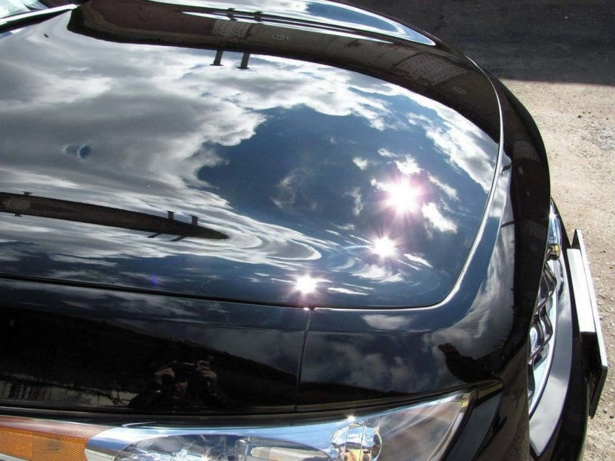 Фото примера полирования авто в «АвтосервисПрофи»