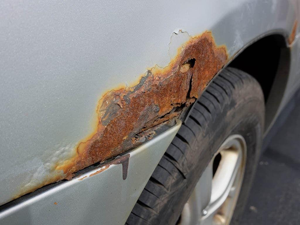фото удаление ржавчины с авто