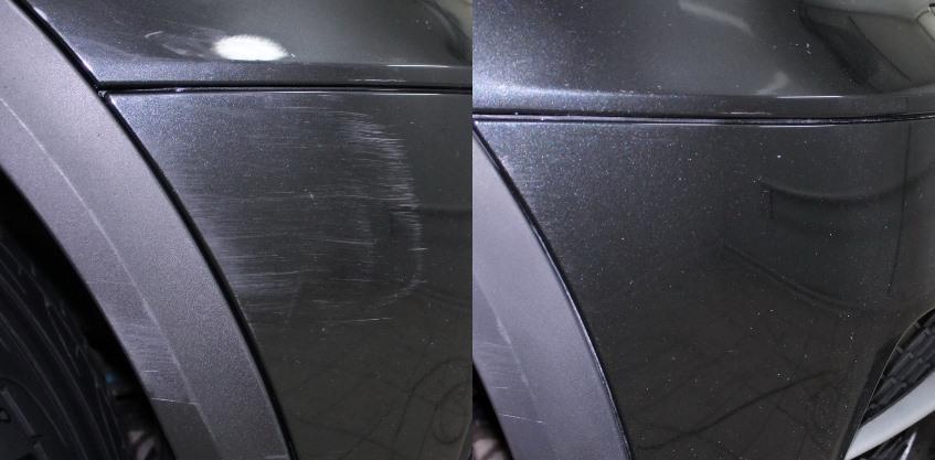 ремонт царапины без покраски