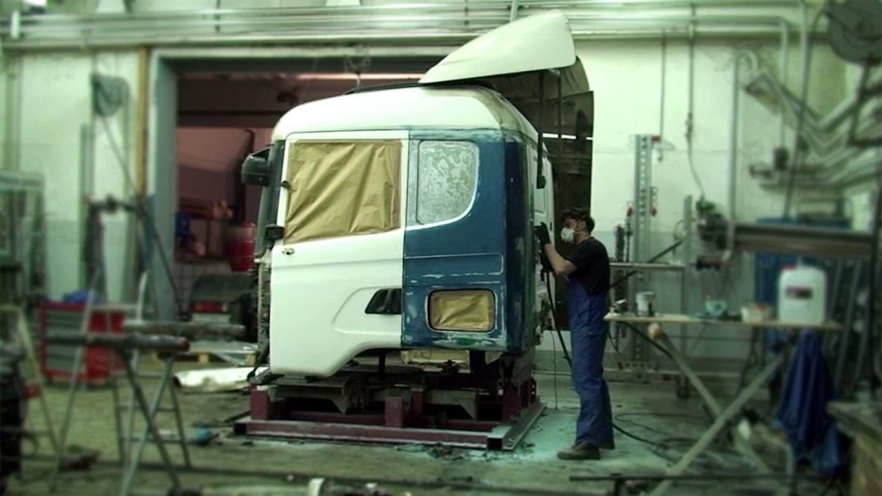 фото кузовной ремонт грузовиков