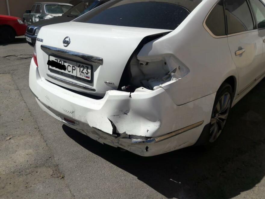 Nissan Teana фото до ремонта