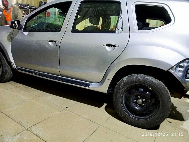 Nissan Terrano фото процесс ремонта в автосервисе
